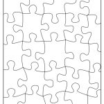 Free Puzzle Template, Download Free Clip Art, Free Clip Art On   Printable Puzzle Blank