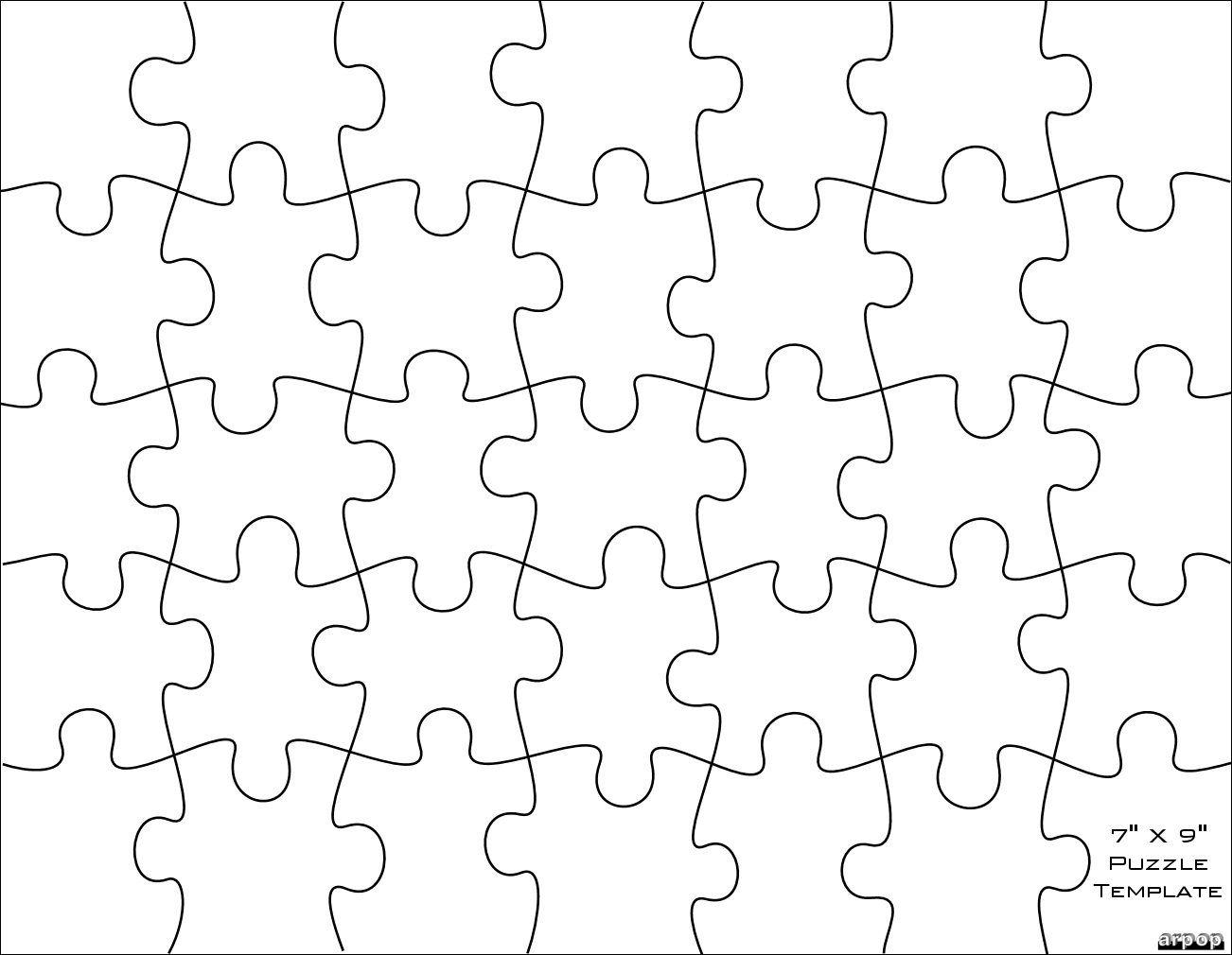 Free Scroll Saw Patternsarpop: Jigsaw Puzzle Templates | School - Printable Custom Puzzle
