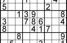 Free Sudoku For Your Local Publications! – Sudoku Of The Day   Printable Sudoku Puzzle Easy