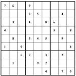Free Sudoku Puzzles | Enjoy Daily Free Sudoku Puzzles From Walapie   5 Star Sudoku Puzzles Printable