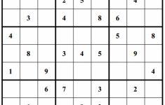 Free Sudoku Puzzles   Enjoy Daily Free Sudoku Puzzles From Walapie   Printable Sudoku Puzzles One Per Page