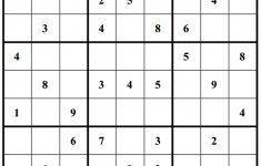 Free Sudoku Puzzles | Enjoy Daily Free Sudoku Puzzles From Walapie   Sudoku X Printable Puzzles