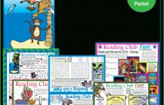 Free Summer Reading Fun – Puzzle Packet   Printable Puzzles For June   Reading Printable Puzzle