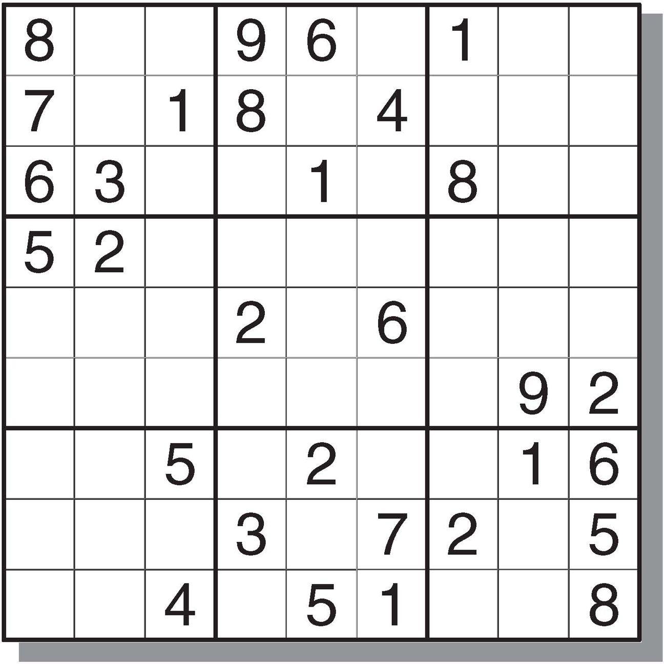 Free&easy Printable Sudoku Puzzles   Sudoku   Sudoku Puzzles, Games - Printable Sudoku Puzzles Krazydad