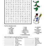 French Christmas Word Search   Google Search   French   Christmas   Printable French Puzzle