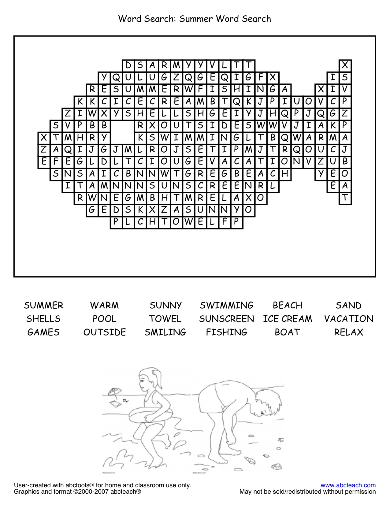 Fun Activities Page 1   Abcteach - Free Printable Puzzles For 11 Year Olds