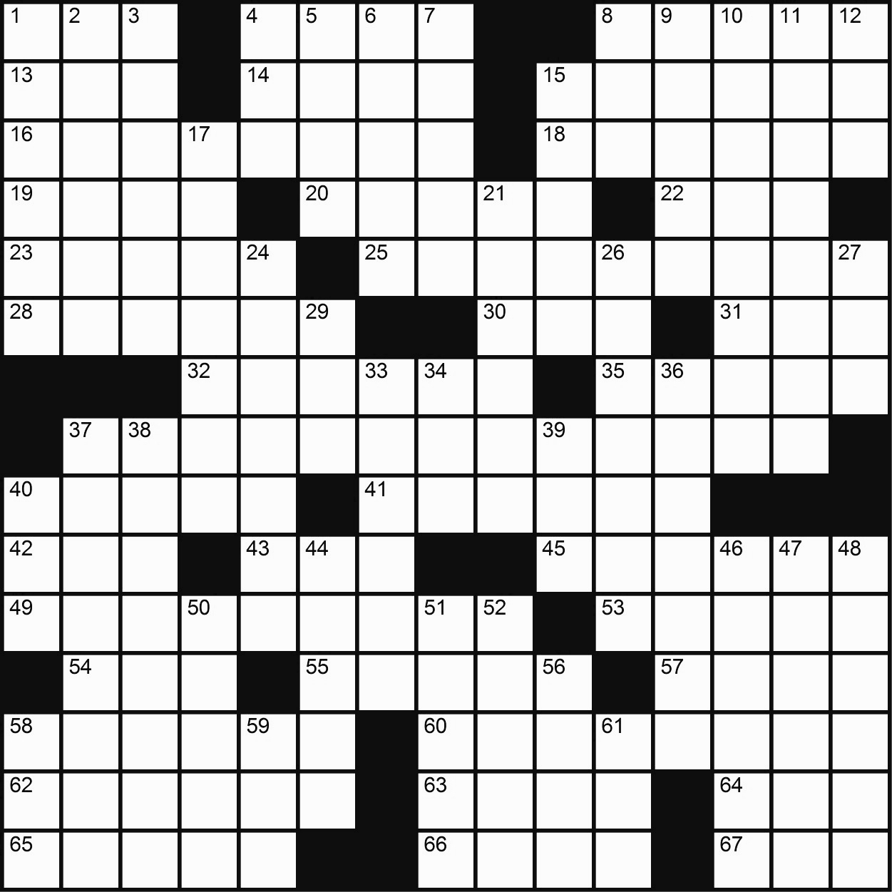 Game-Changing: A Crossword – Playtime - Printable Crosswords Rugby