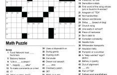 Geometry Puzzles Math – Upskill.club   Free Printable Crossword Puzzles High School