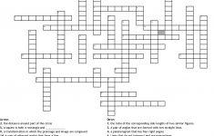 Geometry Vocabulary Crossword   Wordmint   Geometry Vocabulary Crossword Puzzle Printable
