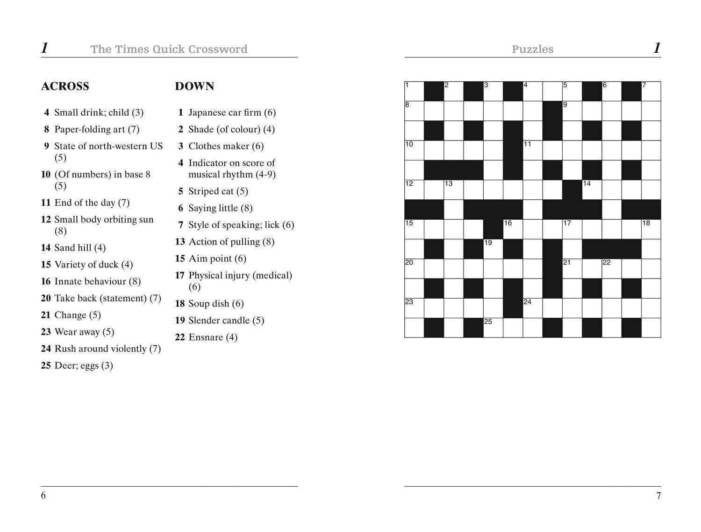 Golf Term Crossword Clue Elegant The Times Quick Crossword Book 19 - Printable Quick Crossword