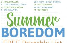 Grab This Printable List Of 60 Things To Do When You're Bored. When   Printable Puzzles To Do When Bored