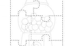 Gumball Puzzle Free Printable   Preschool/kindergarten   Free   Printable Toddler Puzzles