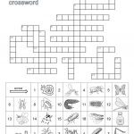 Hairy Insect Crossword   Insect Foto And Image In 2019   Printable Laxcrossword