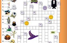 Halloween Crossword For Beginners Worksheet   Free Esl Printable   Printable Crossword Puzzles Halloween