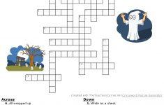Halloween Crossword   Hard #happyhalloween 💀👻🎃   Classroom   Hard Halloween Crossword Puzzles Printable