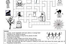 Halloween Crossword Worksheet   Free Esl Printable Worksheets Made   Halloween Crossword Puzzle Printable