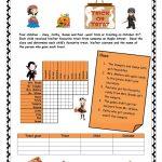 Halloween Logic Puzzle Worksheet   Free Esl Printable Worksheets   Reading Printable Puzzle