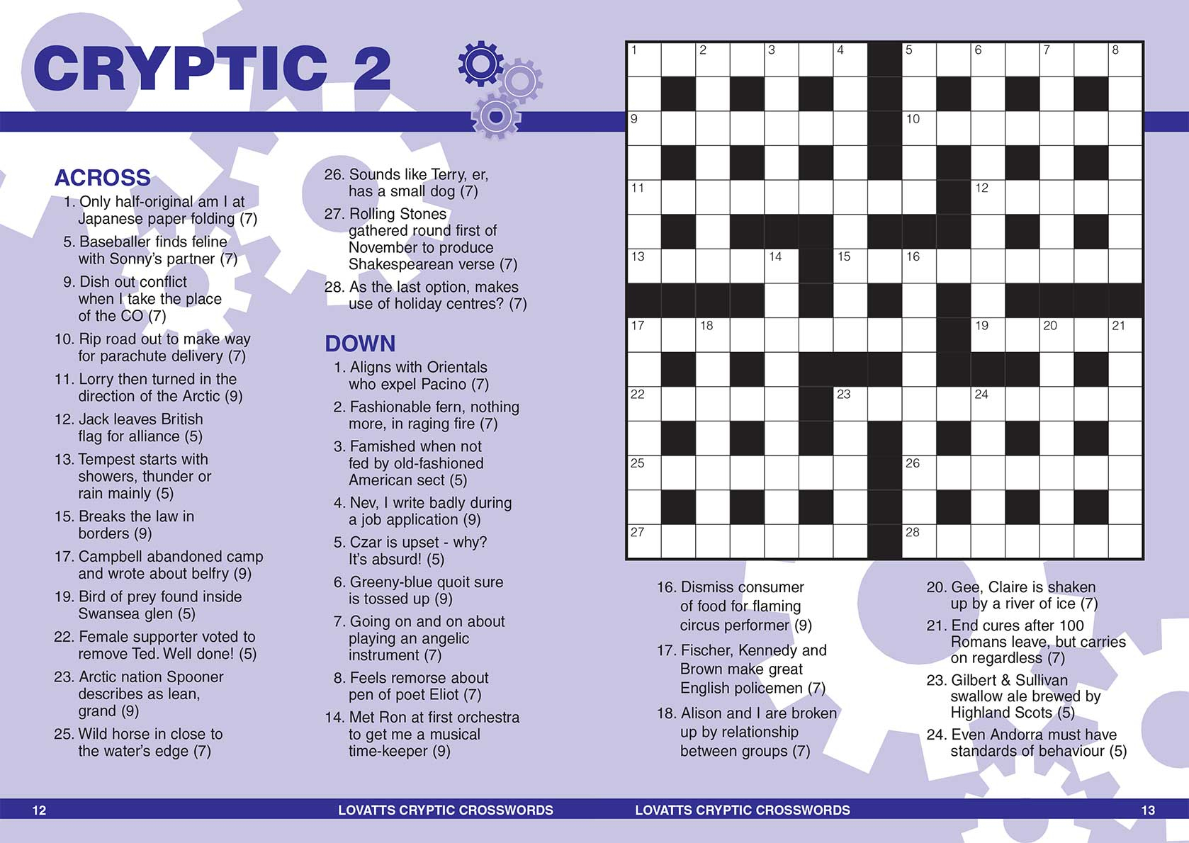Handy Cryptic Crosswords Magazine - Lovatts Crosswords & Puzzles - Printable Cryptic Crossword Puzzles Nz