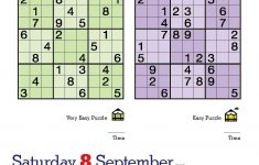 Happy International Sudoku Day! Page-A-Day – Printable Mensa Puzzles