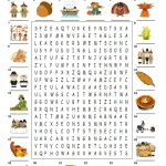 Happy Thanksgiving   Wordsearch Puzzle Worksheet   Free Esl   Printable Thanksgiving Crossword Puzzles For Middle School