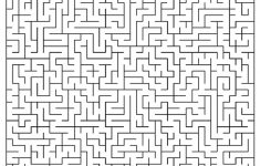 Hard Mazes   Best Coloring Pages For Kids   Printable Puzzle Mazes