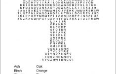 Hard Printable Word Searches For Adults   Free Printable Word Search   Printable Word Puzzles For Seniors
