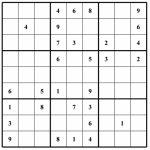 Hard Puzzle   Free Sudoku Puzzles   Printable Sudoku 4 Per Page   Printable Sudoku Puzzles Krazydad
