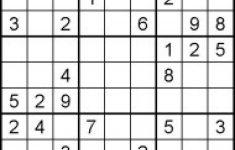 Hard Sudoku Puzzles For Kids   Free Printable Worksheets Pertaining   Printable Sudoku Puzzle Hard