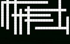 Hd Celebrity Crossword Puzzle Main Image Download Template   Word   Printable Crossword Puzzles Celebrities