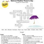 Here Is The Answer Key For The Printable Crossword Puzzle For   Crossword Puzzles And Answers Printables