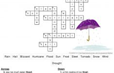 Here Is The Answer Key For The Printable Crossword Puzzle For   Printable Crossword Puzzles For Grade 1