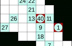 Hidato   Wikipedia   Printable Numbrix Puzzles