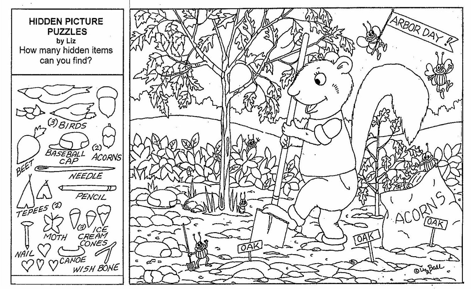 Hidden Objects Worksheets - Briefencounters Worksheet Template - Printable Hidden Puzzle Games