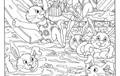 Hidden Picture Worksheet For Middle School   Kiddo Shelter   Printable Hidden Object Puzzles For Adults