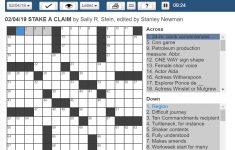 History Make Up Crossword Clue | Saubhaya Makeup   Printable Crossword Puzzles Boston Herald