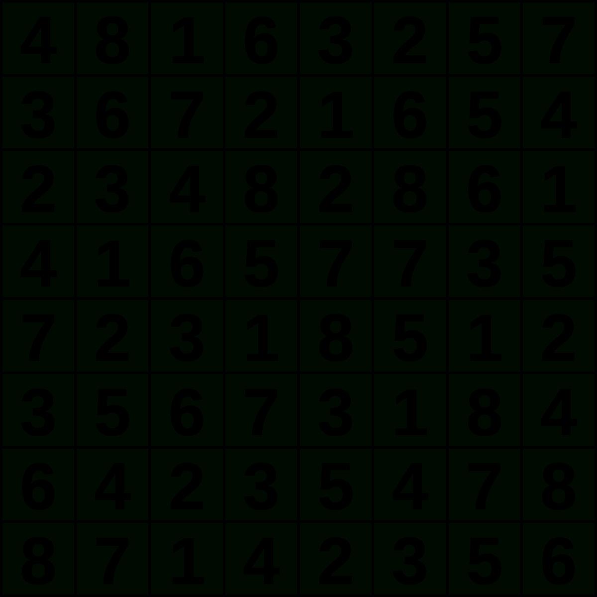 Hitori - Wikipedia - Printable Hitori Puzzles