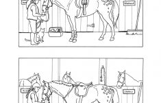 Horse Projects For Kids | Spot The Differences   Stable | Mind's Eye   Printable Horse Puzzles