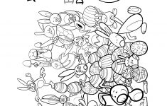 How Many Easter Bunnies Do You See   Puzzle Coloring Page   Print   Printable Bunny Puzzle