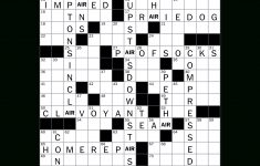 How To Solve The New York Times Crossword   Crossword Guides   The   La Times Printable Crossword 2015