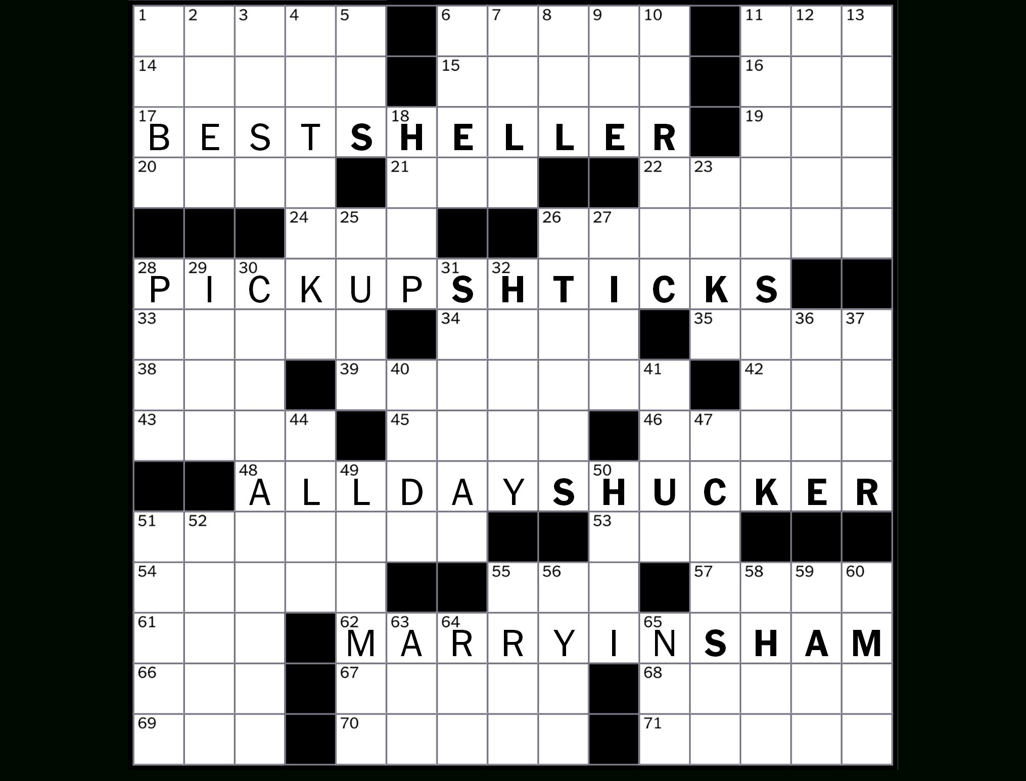 How To Solve The New York Times Crossword - Crossword Guides - The - Printable North Of 49 Crossword Puzzles