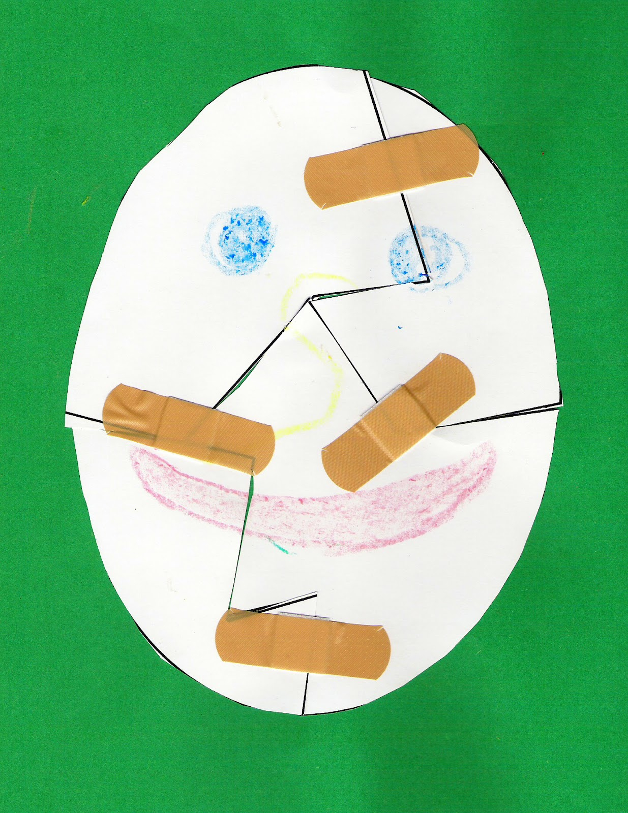 Humpty Dumpty Craft - Printable Humpty Dumpty Puzzle