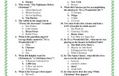 Ideas Collection Easy Christmas Trivia Questions And Answers   Printable Trivia Puzzles