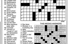 Images: Answers To Todays Crossword Puzzle,   Best Games Resource   Printable Commuter Crossword Puzzles