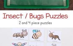 Insect Theme Printable Puzzles | Bugs & Insect Activities For Kids   Printable Puzzle For Toddlers