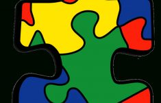 Iron On Autism Awareness Patch   Colorful Jigsaw Puzzle Piece   Printable Puzzle Piece Autism