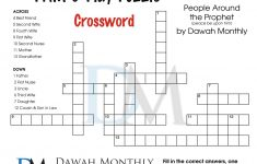 Islam #crossword #puzzle | Puzzles | Crossword, Puzzle, Diagram   Islamic Crossword Puzzles Printable