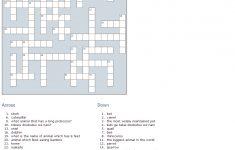 Japanese Language Crossword: Animals Edition | Learn Japanese   Printable Japanese Crosswords