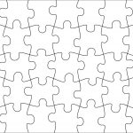 Jigsaw Pattern Templates. I Know I Want To Use It, But I Don't Know   7 Piece Printable Puzzle