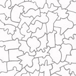 Jigsaw+Puzzle+Template+Printable | Vector | Free Printable Puzzles   Printable Jigsaw Puzzles For Middle School