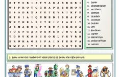 Jobs And Professions Puzzles Worksheet   Free Esl Printable   Printable Puzzles.com